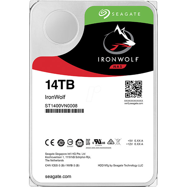 Seagate IronWolf 1 4TB