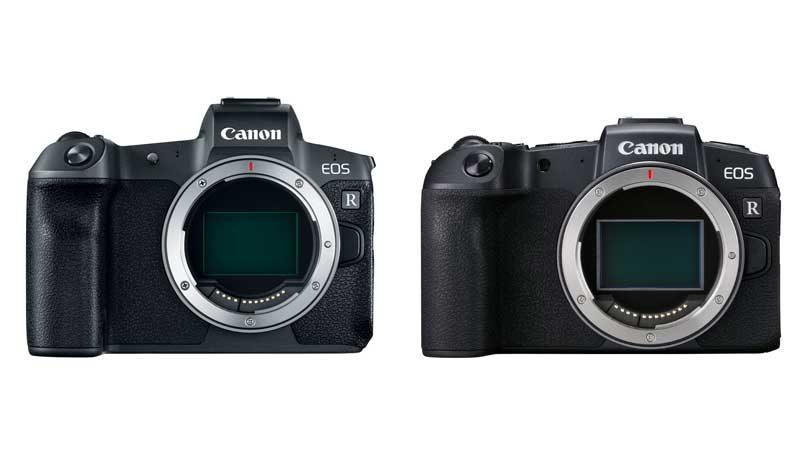 Canon EOS R vs EOS RP