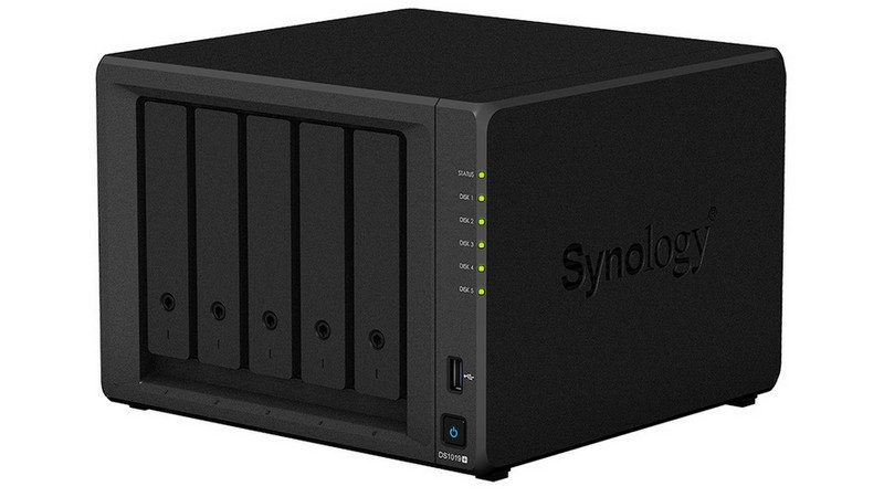 Synology DS1019+ Hero Image