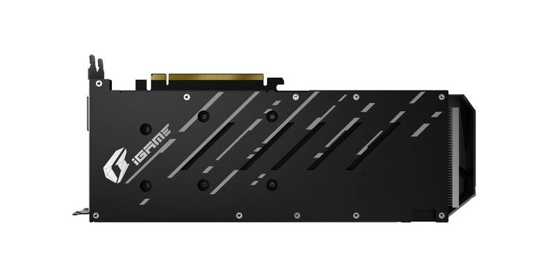 Colorful iGame GeForce GTX 1660 Ti Ultra Back Plate