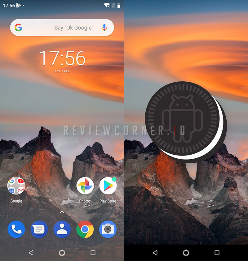 Tampilan Android Nokia 5.1 Plus