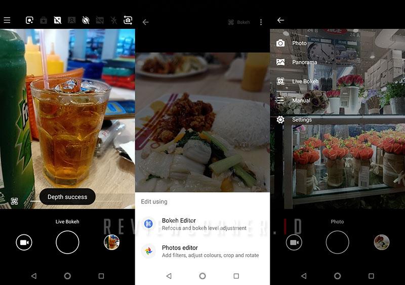Menu Kamera Nokia 5.1 Plus