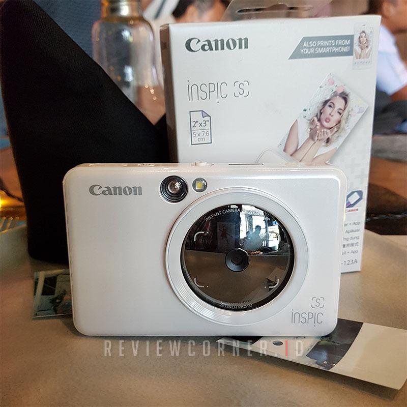 Kamera Instan Printer Foto Canon iNSPiC [S]